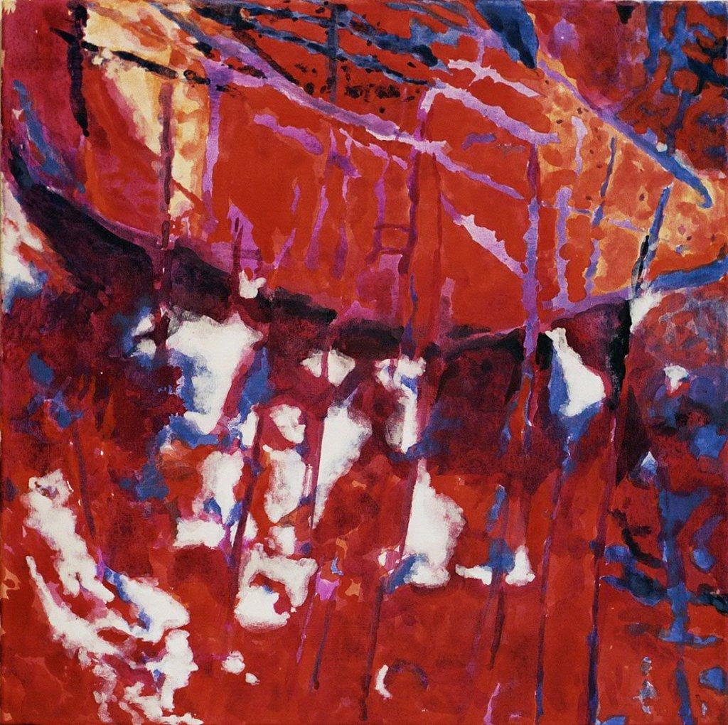 Acryl und Farbpigmente auf Leinwand, 2008
